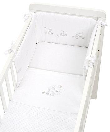 Набір для ліжечка-колиски з ягням MY FIRST