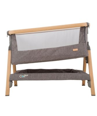 Tutti Bambini Cozee Bedside Crib Charcoal Exclusive To Mothercare  # Muebles Tadel Grup