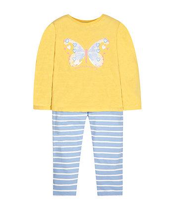 Піжама з метеликом