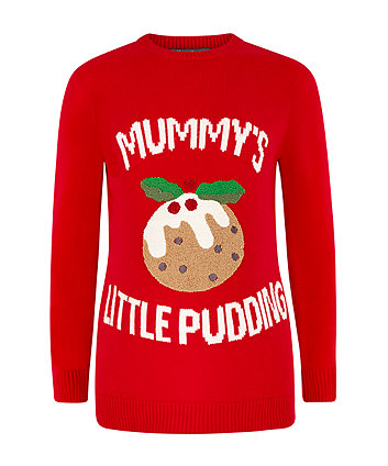 christmas pudding maternity jumper - Christmas Maternity