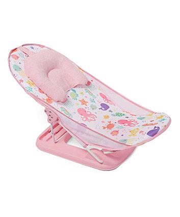 Шезлонг для купання - рожевий