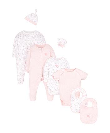 Рожевий набір з 8 позицій