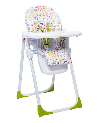 Chicco Happy Snack Highchair Greenbluepink