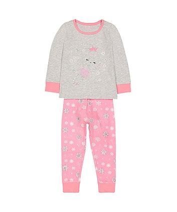 pink and grey fairy pyjamas