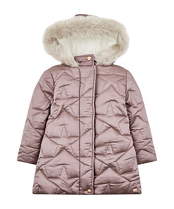Рожеве пальто