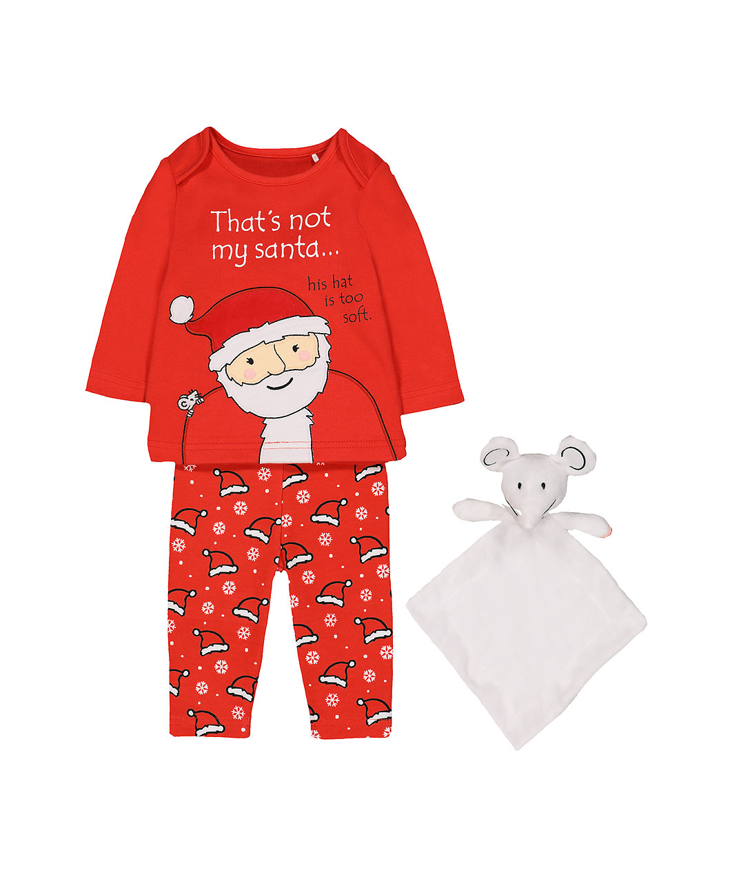 that s not my santa pyjamas and mouse comforter toy 59e5c2fe2