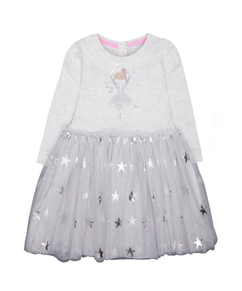 e6139ffdf grey fairy twofer dress
