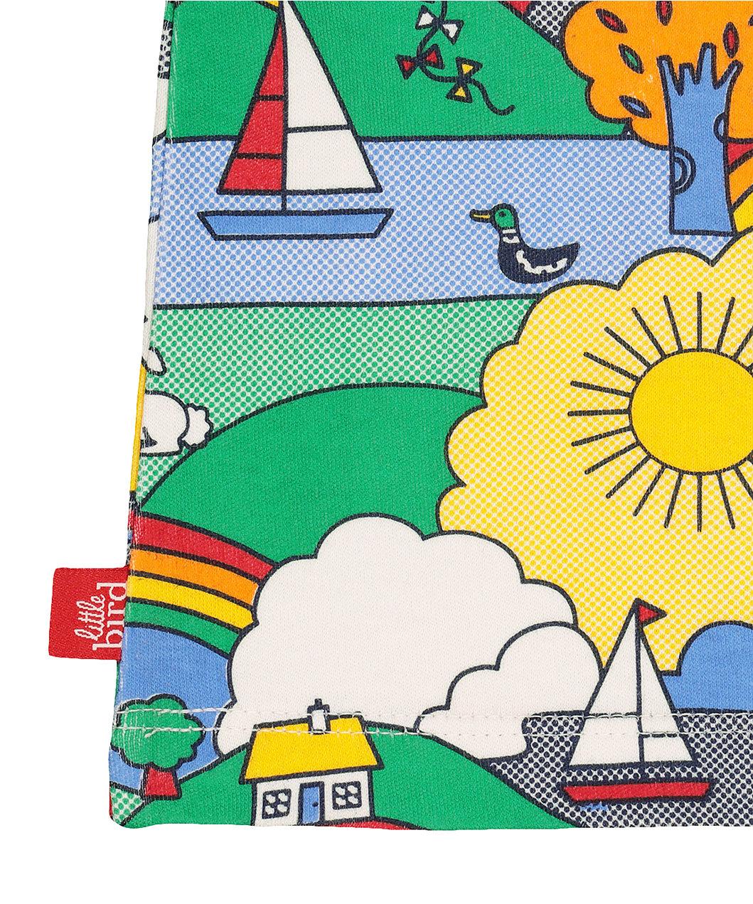 3974a3b576707 little bird playground adventure shortie pyjamas