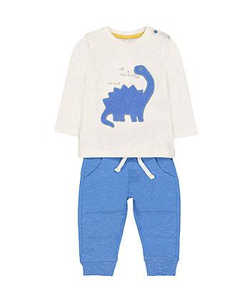 Dinosaur t-shirt and jogger set
