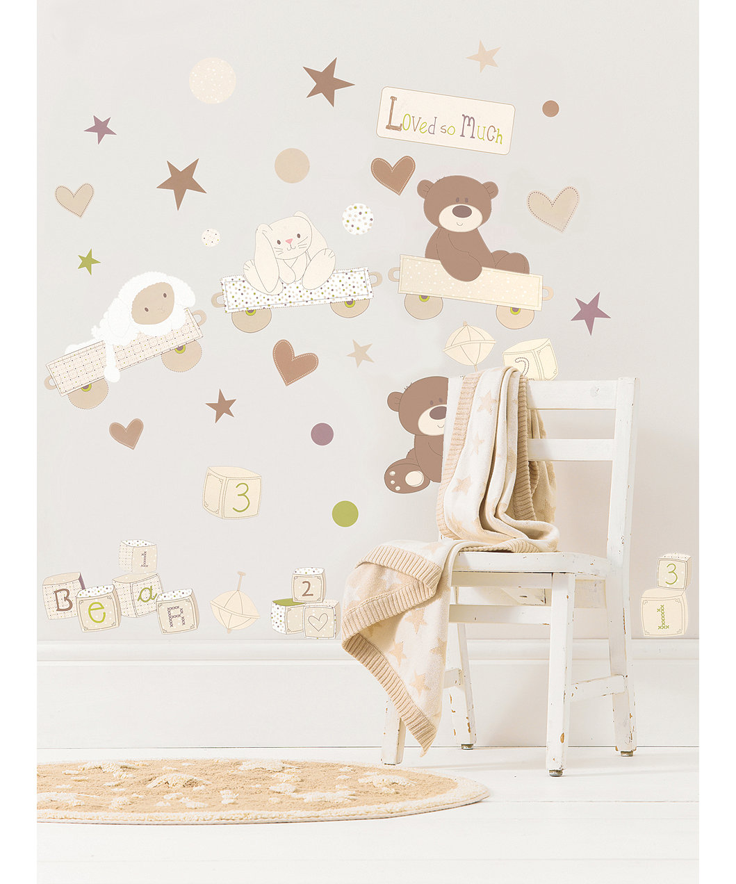Mothercare Loved So Much Wall Stickers