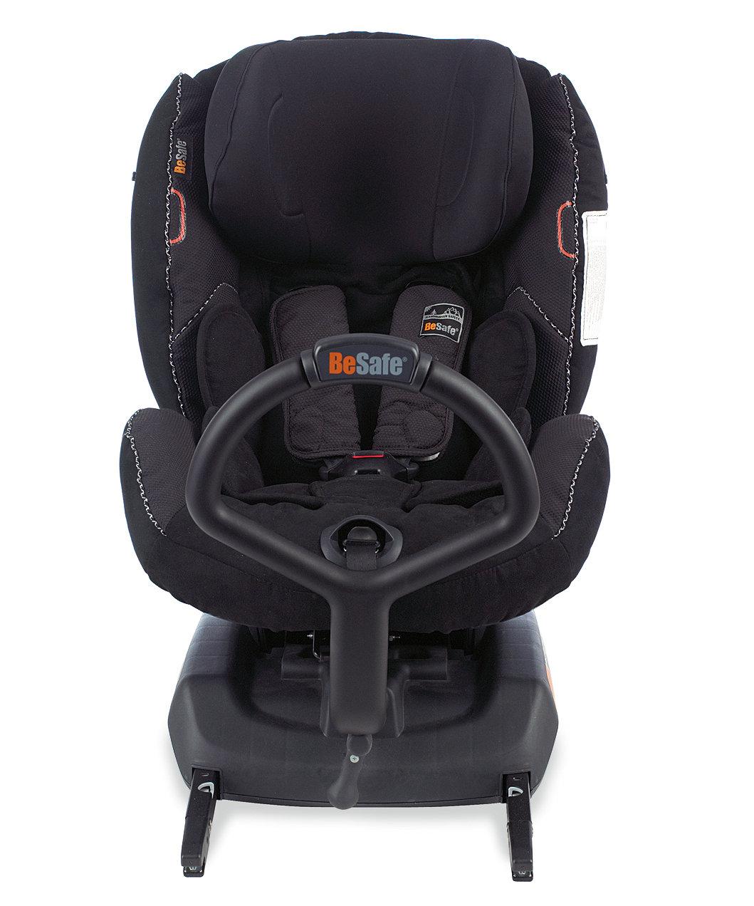Flot BESAFE iZi Combi ISOFIX Combination Car Seat - Black Alcantara ZH-52