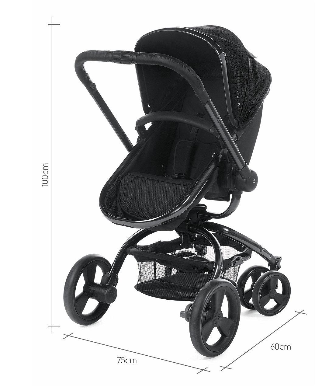 Mothercare Orb Spin Rear Back Wheel black pram pushchair