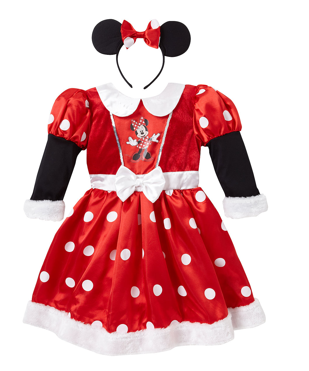Disney Minnie Mouse Red Dress Up