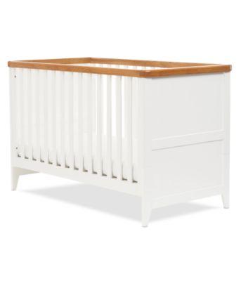 Mothercare Summer Oak Cot Bed White # Muebles Tadel Grup