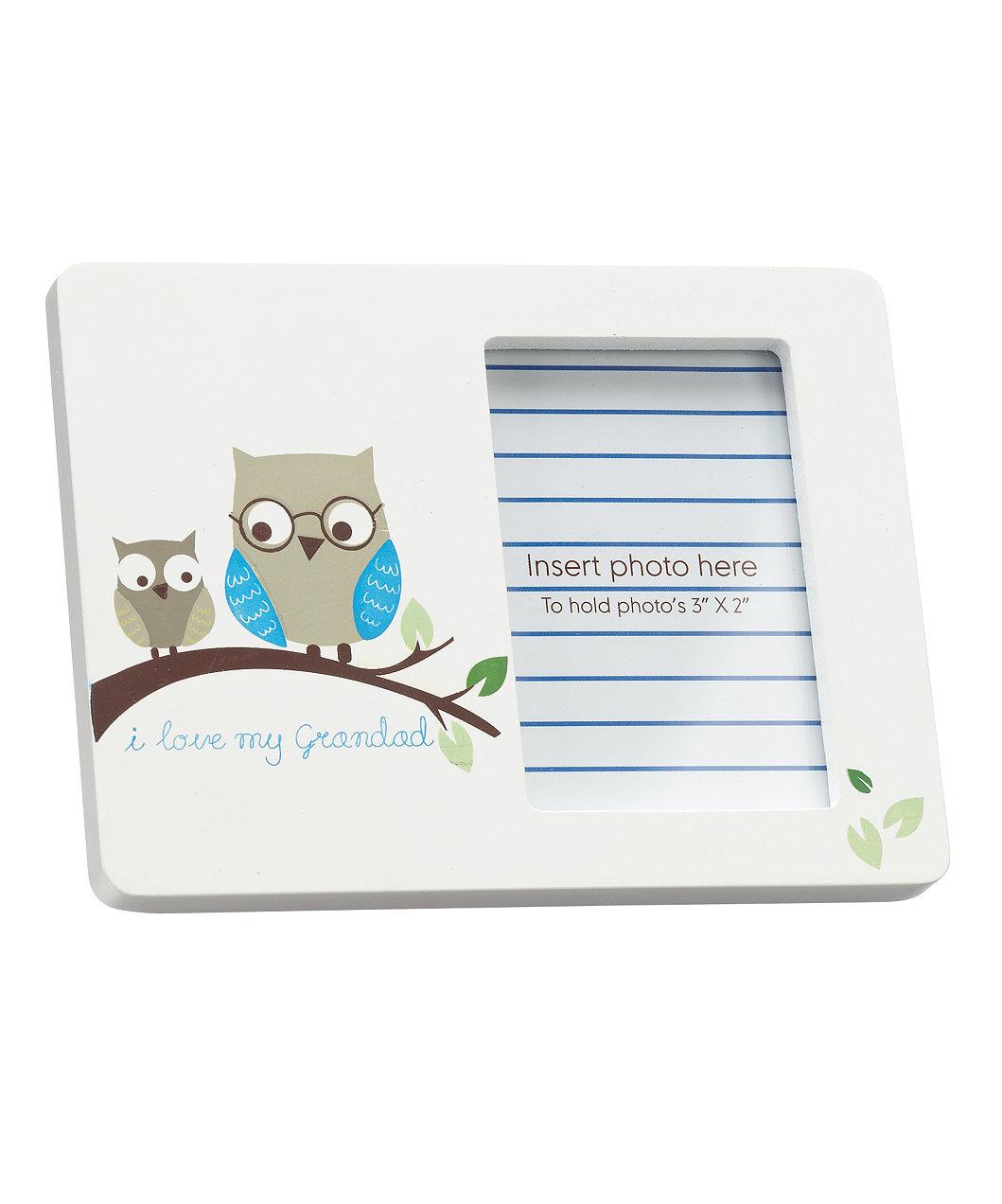 Mothercare I Love My Grandad Owl Photo Frame