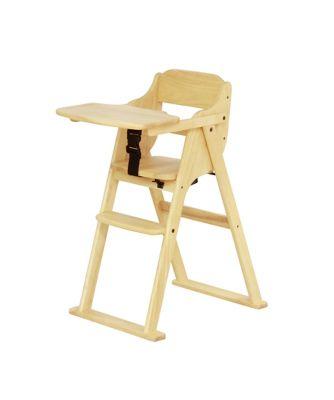 Yamatoya Nico Folding High Chair Natural Mothercare Indonesia # Muebles Tadel Grup